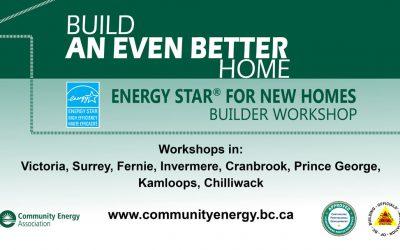 Builder Workshops from Community Energy Association