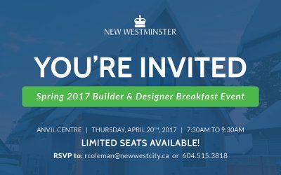 Spring 2017 Builder & Designer Breakfast