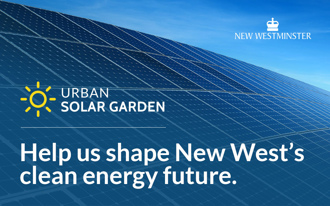 Urban Solar Garden – Public Information Session