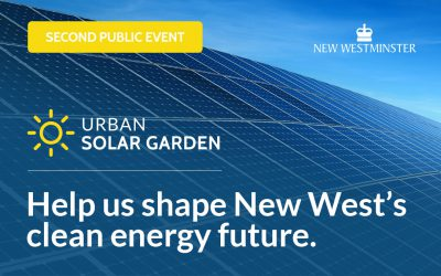 Urban Solar Garden – Second Public Information Session