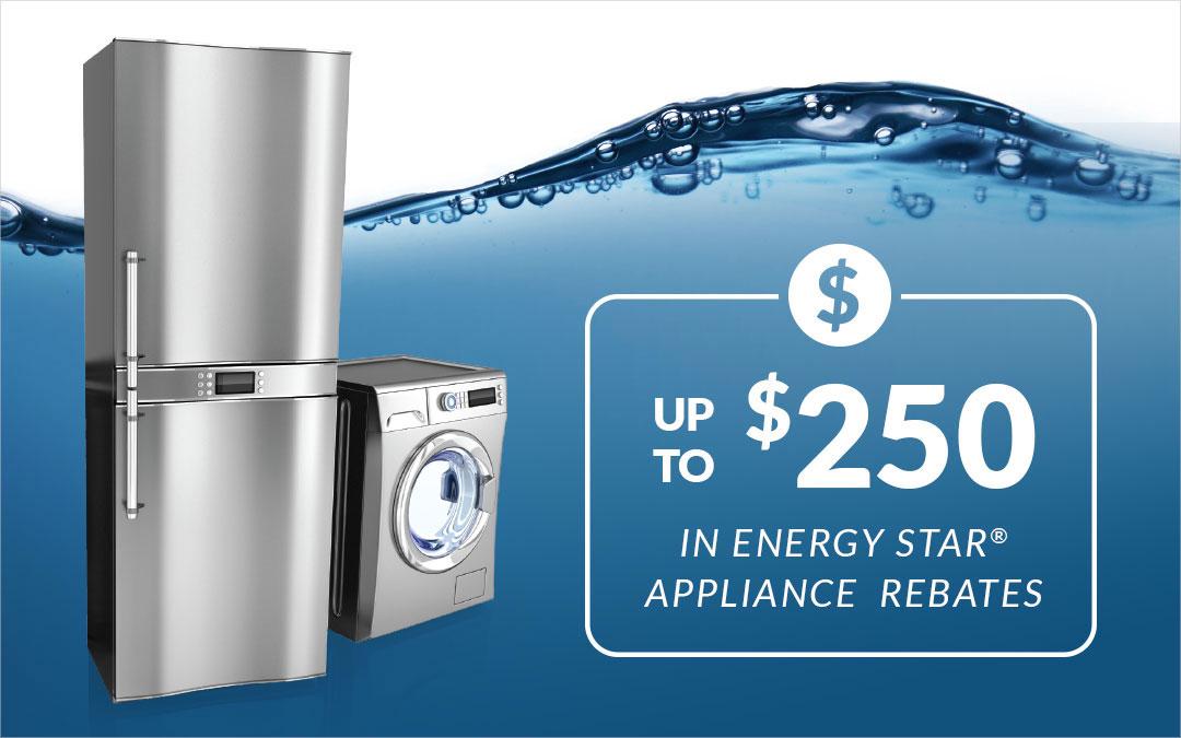Energy Star® Appliance Rebates For Spring 2018