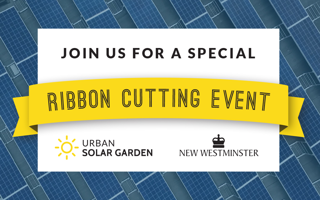 Urban Solar Garden Ribbon Cutting Event