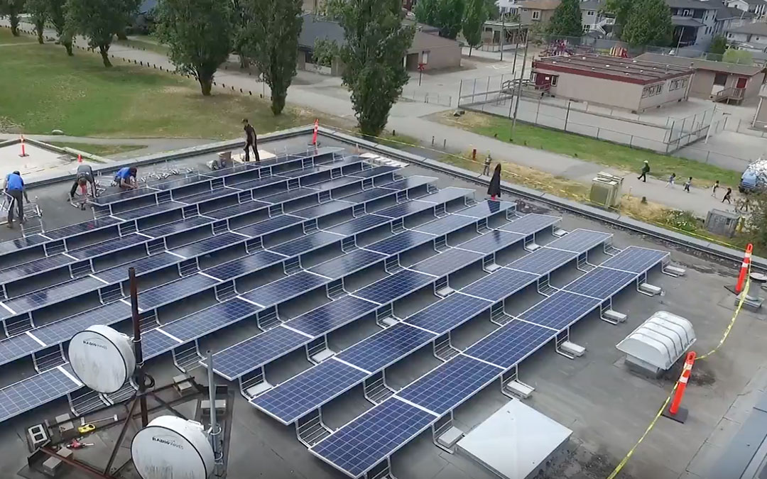 Urban Solar Garden Installation Video