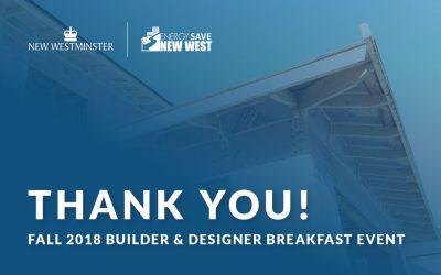 Presentations From Spring 2018 Builder And Designer Breakfast