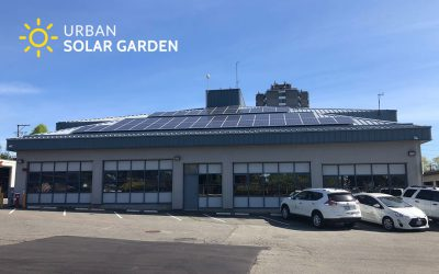Construction Update on Second Urban Solar Garden