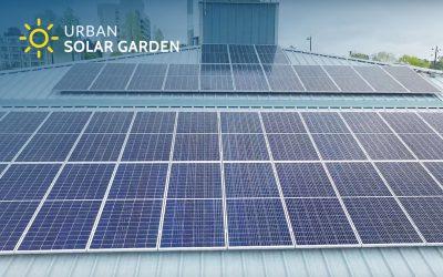 Urban Solar Garden Installation Video for City Public Works Yard