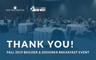 Presentations From Fall 2019 Builder And Designer Breakfast