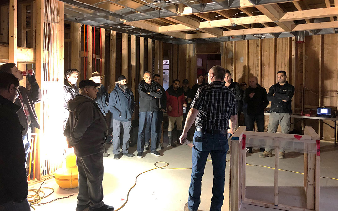 Air Tightness Training Results