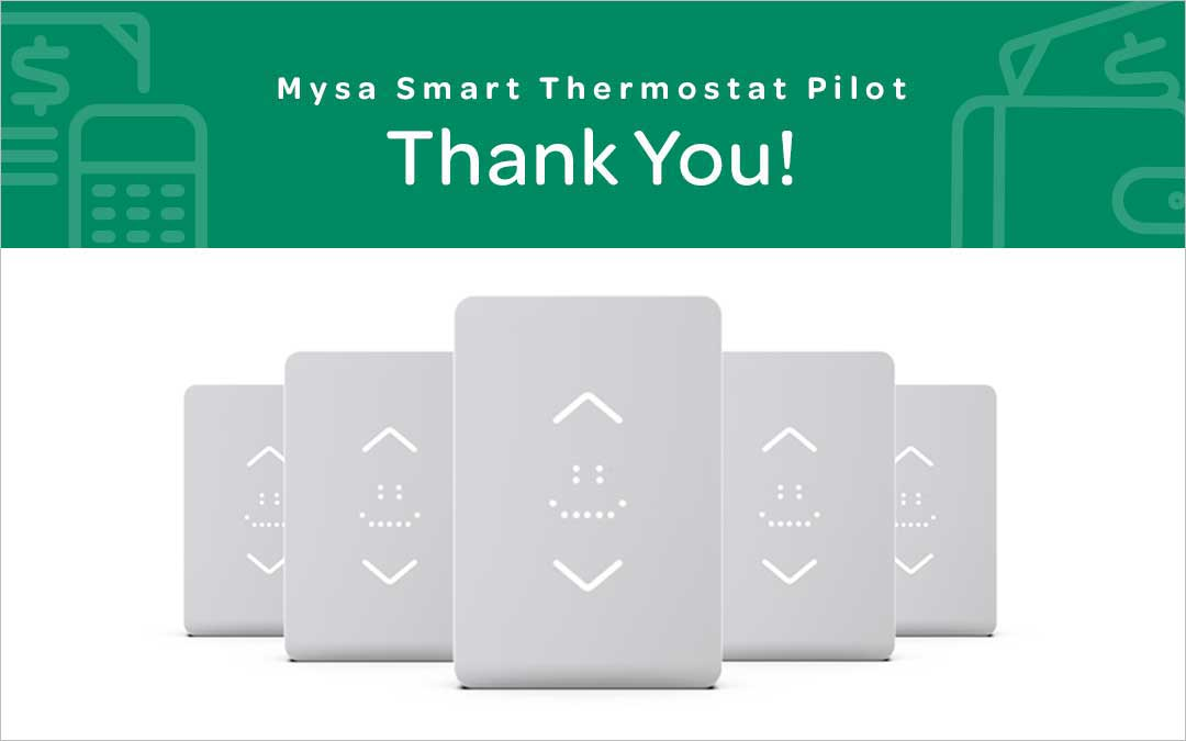 Smart Thermostat Pilot – Thank You