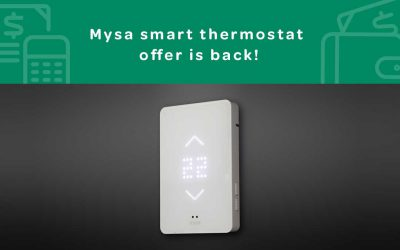 Smart Thermostat Offer from Mysa & Energy Save New West
