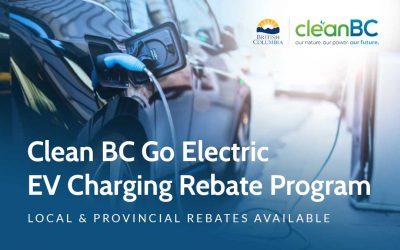 Clean BC Go Electric EV Charging Rebate Program