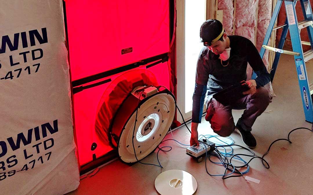 Mid-Stage Blower Door Testing – Case Studies
