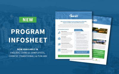 Infosheet – Energy Save New West Program Overview