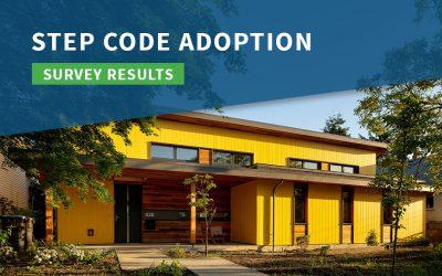 Step Code Adoption Survey Results